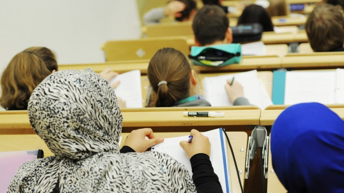 Studenten in Berlin