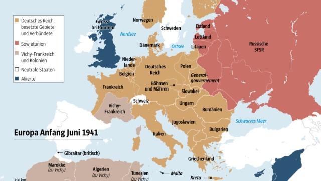 Deutsches Reich Karte 1943.Zweiter Weltkrieg Die Ns Propaganda Feierte Den Sieg Der