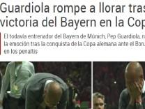 Pep Guardiola Pressestimmen