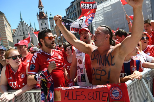 Empfang Pokalsieger FC Bayern München
