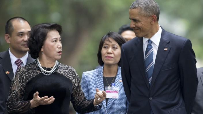 Barack Obama, Nguyen Thi Kim Ngan