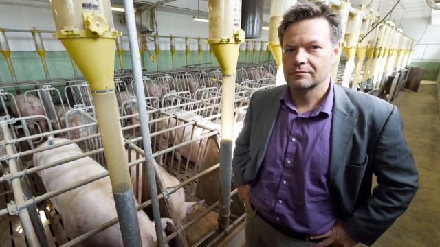 Habeck fordert Umdenken in Landwirtschaft