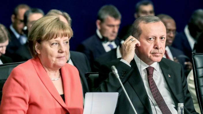 Bundeskanzlerin Angela Merkel in der T¸rkei