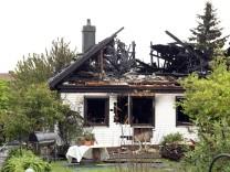 Unterschweinbach:Brand Einfamilienhaus