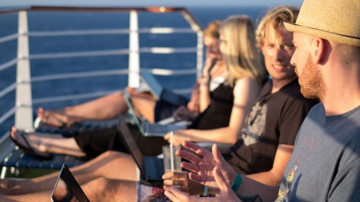 """Foto vom """"Nomad Cruise"""", Kreuzfahrt für digitale Nomaden"""