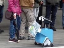 Roboter der Stadtwerke Augsburg