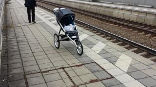 Stuttgart 21 Frontal 21 ZDF Bahnsteig Kinderwagen