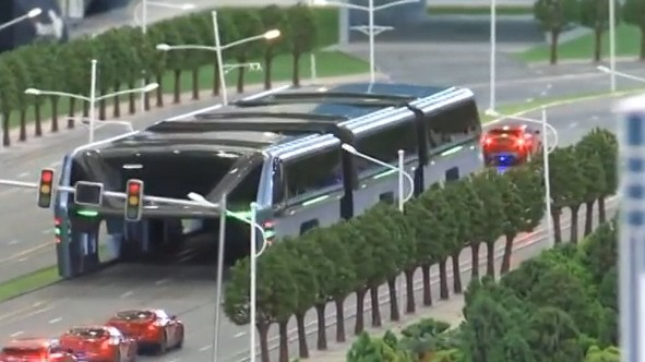 Anti-Stau-Bus China