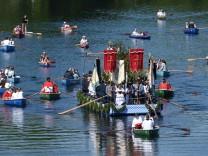 Fronleichnams-Prozession am Staffelsee