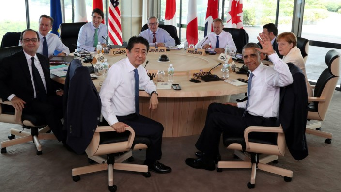 The final day of the G7 Ise-Shima Summit