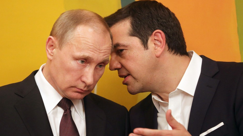 Alexis Tsipras , Vladimir Putin