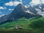Eiger und Moench - Schweizer Alpen, ddp