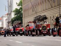 Feuerwehrparade Ludwigstraße