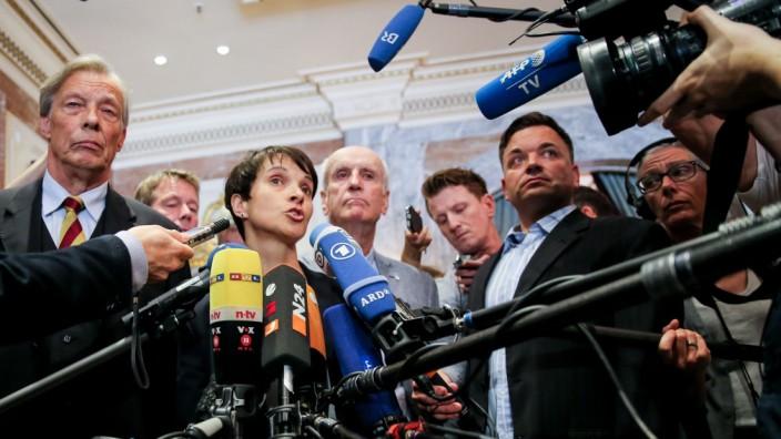 Treffen AfD und Zentralrat der Muslime in Deutschland