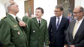 Bruck: FESTAKT - Amtseinführung Ingbert Hoffmann / Polizeischule