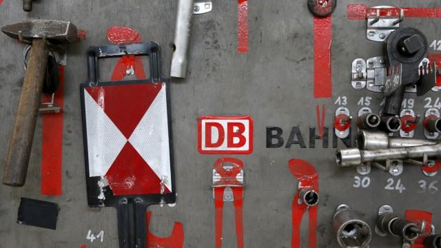 Deutsche Bahn-Chef Grube schmeißt hin - und stürzt die Bahn in eine Führungskrise