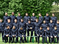 Italian national soccer team official photo