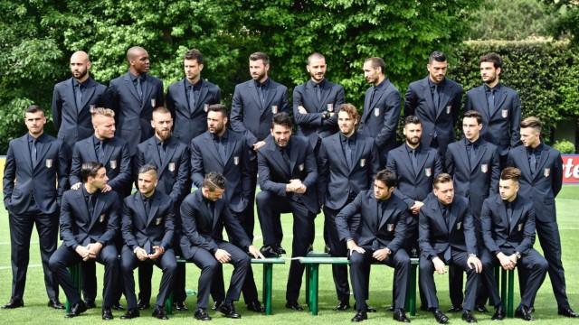 Italian national soccer team official photo