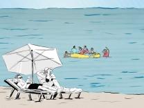 """Illustration für Reise-Serie """"Gute Reise"""""""