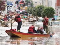 Floods Hit Southern Bavaria