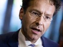 Eurogroup President and Dutch Finance Minister Jeroen Dijsselbloe