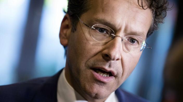 Eurogroup President and Dutch Finance Minister Jeroen Dijsselbloe