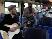 Konzert im Kulturzug zwischen Berlin und Breslau