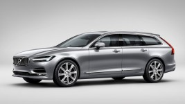 Volvo S90 and V90 in the test