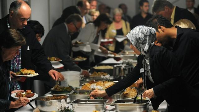 Beginn der Fastenzeit Ramadan