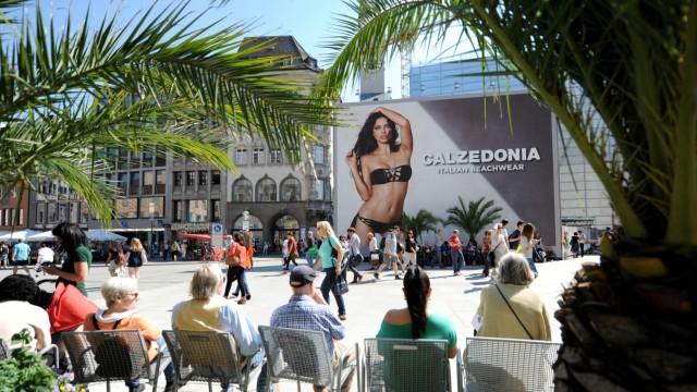 Marienplatz Werbung