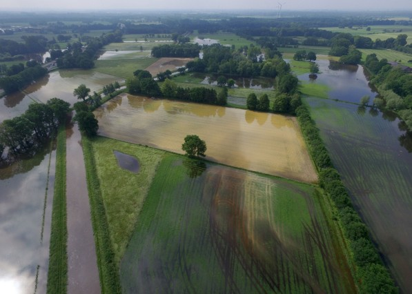 Hochwasser in Nordrhein-Westfalen
