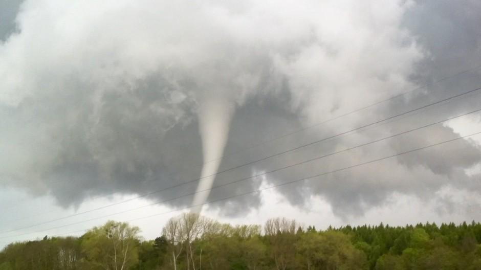 Tornados in Norddeutschland - Bützow 2015