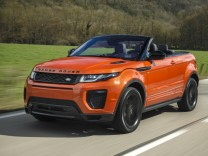 Das neue Range Rover Evoque Cabrio