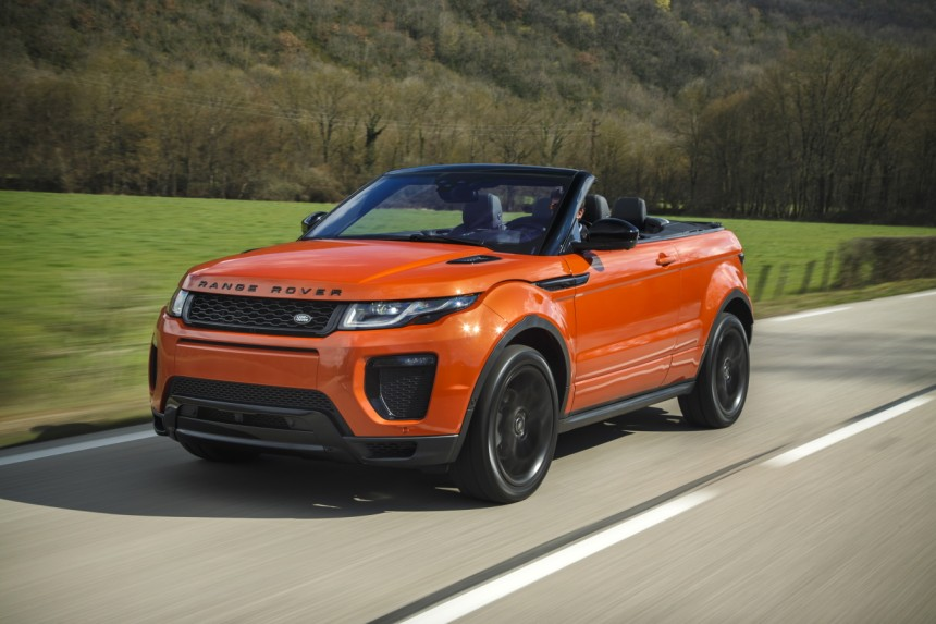Das Neue Range Rover Evoque Cabrio Im Fahrbericht Auto Mobil