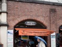 Metzgerei Schlagbauer am Viktualienmarkt in der Metzgerzeile