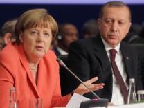 Bundeskanzlerin Angela Merkel  in der Türkei