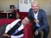Richard Branson Virgin Airlines Mem