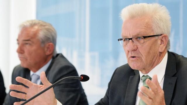 Pressekonferenz Ministerpräsident Kretschmann