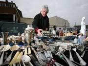 Flohmarkt, verkaufen, Getty Images