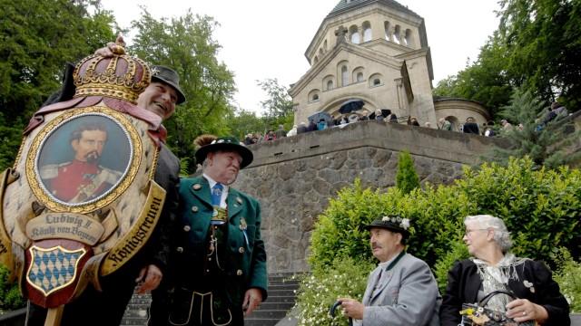 Starnberg: Votivkapelle Todestag Konig Ludwig II