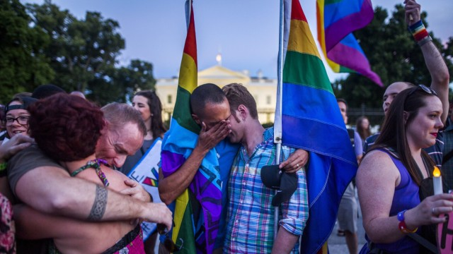 Vigil in honor of Orlando shooting victims outside the White Hous