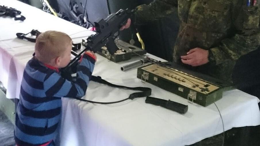 Stetten Bundeswehr Waffen