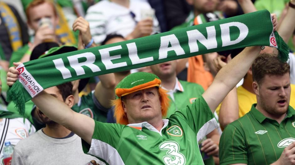 Einzelne irische Männer