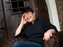 Chefkoch Mun Kim in seinem neuen Restaurant Mun in der Inneren Wiener Straße 18