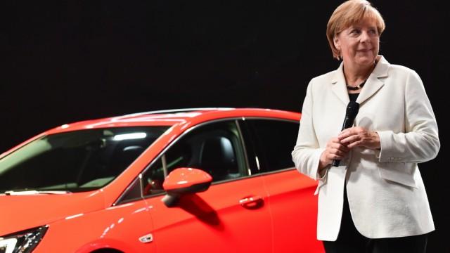 IAA Frankfurt - Merkel