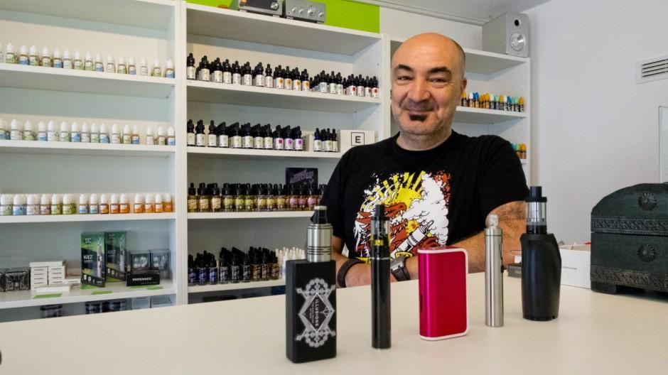 Dampfbar Ebersberg, E-Zigaretten Geschäft.