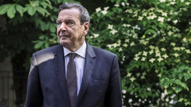 Gerhard Schröder Gerhard Schröder über