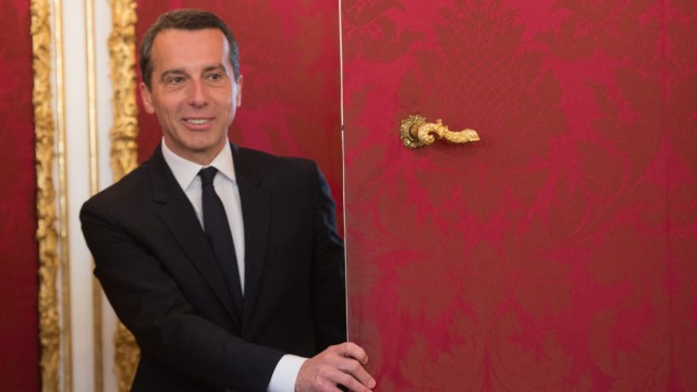 New Austrian Chancellor Christian Kern
