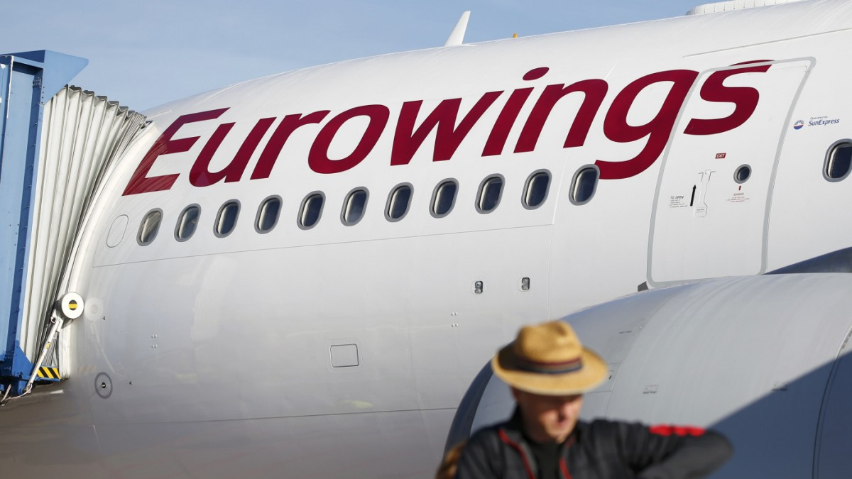 Ufo kündigt Streiks bei Eurowings ab Montag an