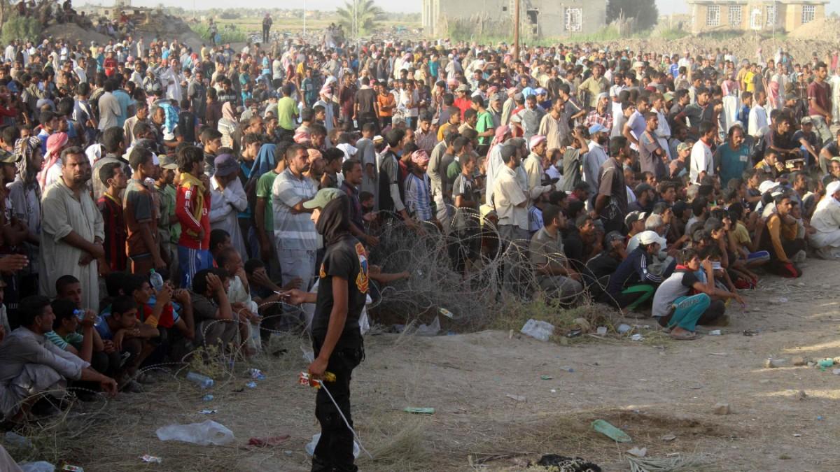 Falludscha-Befreiung verschärft Flüchtlingsdrama im Irak